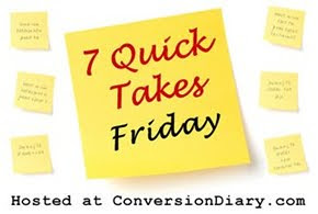 7 Quick Takes Friday :: Volume 34
