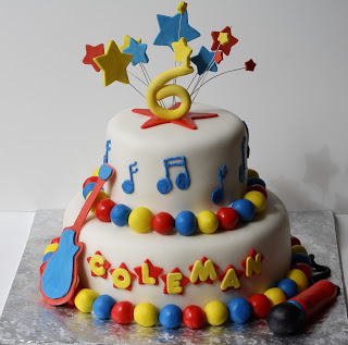 Awesome Rock Star Birthday Cake Lots Of Pictures Rose Atwater Funny Birthday Cards Online Bapapcheapnameinfo