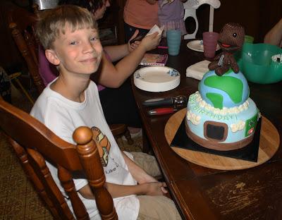 Pleasing Little Big Planet Cake Happy 14Th Birthday Joshua Rose Atwater Birthday Cards Printable Riciscafe Filternl