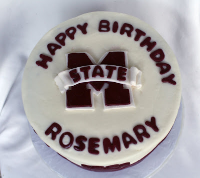 Rose Bakes... a Mississippi State University (MSU) Birthday Cake ...