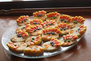 Happy Thanksgiving (+ Turkey Sugar Cookies)