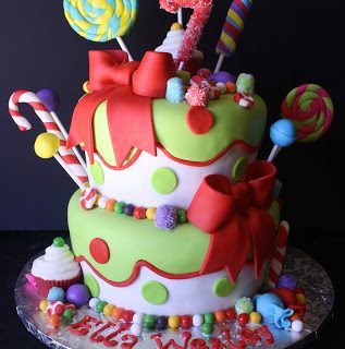 Rose Bakes… A Holly Jolly {Christmas} Birthday Cake