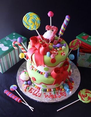 Strange Rose Bakes A Holly Jolly Christmas Birthday Cake Rose Atwater Funny Birthday Cards Online Barepcheapnameinfo