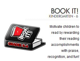 Pizza Hut Book-It Program Registration is Open for Homeschoolers :: Your Kids earn *FREE* Pizza for Reading!!