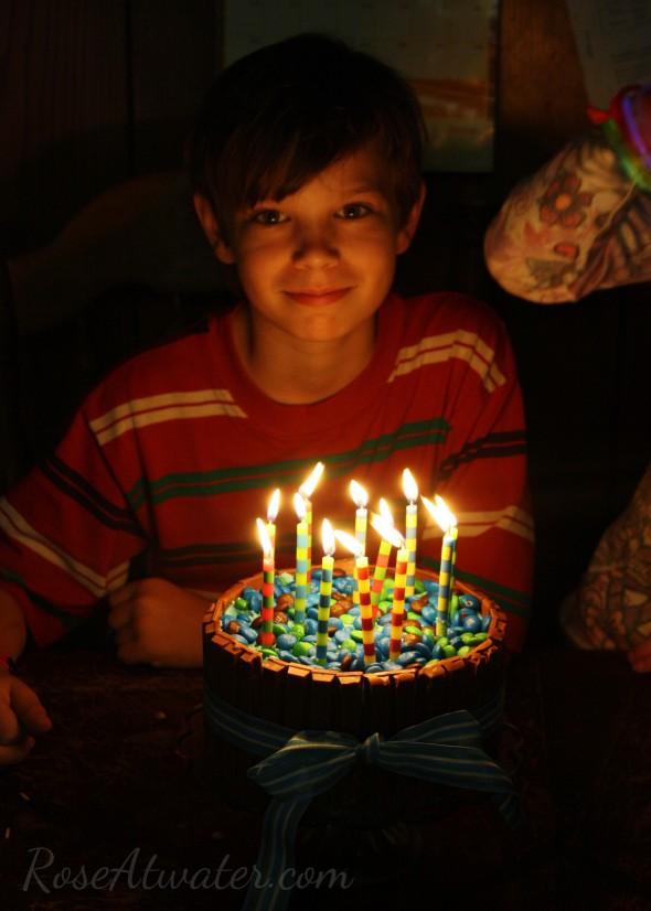 Caleb is 12