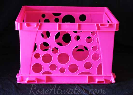 Hot Pink Crate