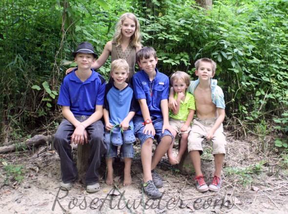 Kids at Grand Village of the Natchez Indians WM