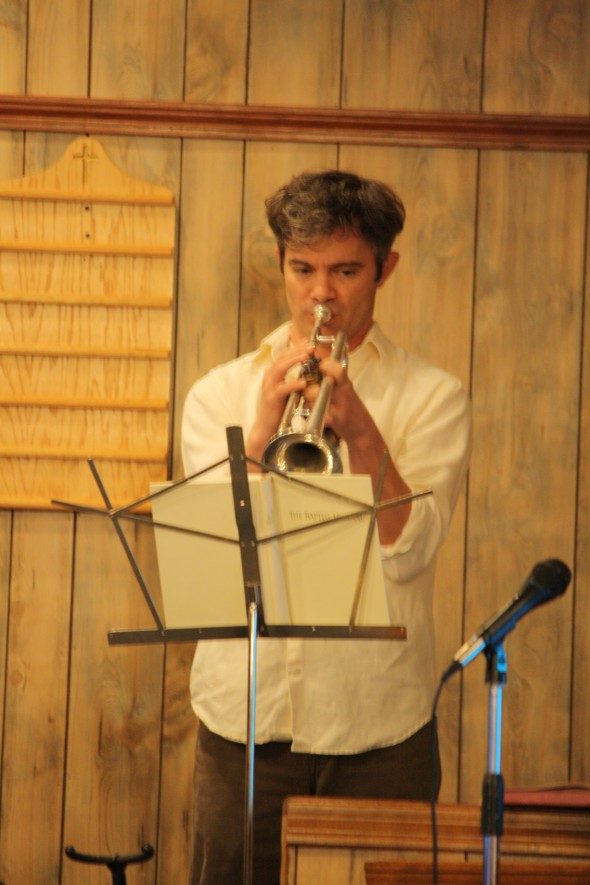 Richy Playing Trumpet