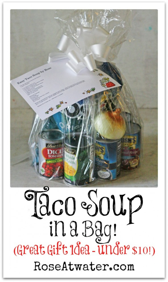 Taco Soup in a Bag