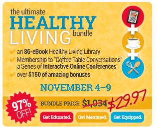 The Ultimate Healthy Living Bundle, $1000+ value for just $29.97