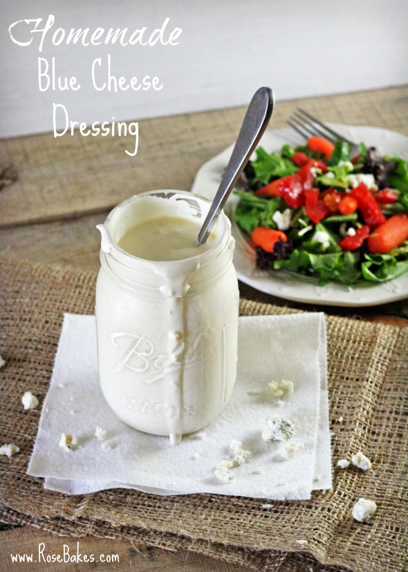 Homemade Blue Cheese Dressing Pioneer Woman Recipe RB