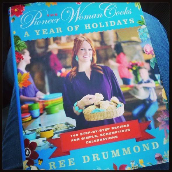 Pioneer Woman Holiday Cookbook