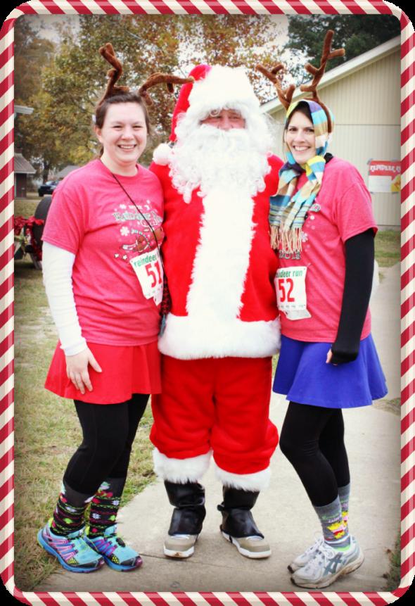 Reindeer Run 2013 Rose Santa Kristen