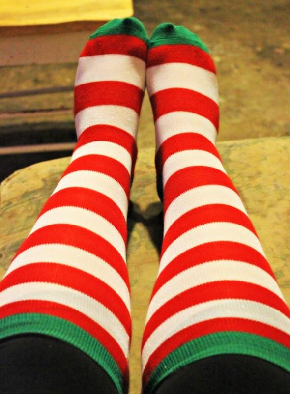 Tall Christmas Socks