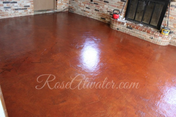 Brown Paper Floors