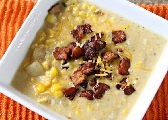 Corn, Potato & Bacon Chowder Recipe