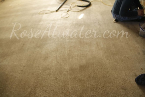 How to do brown paper floors 03