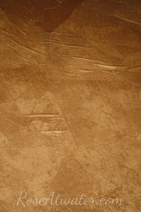 How to do brown paper floors 11
