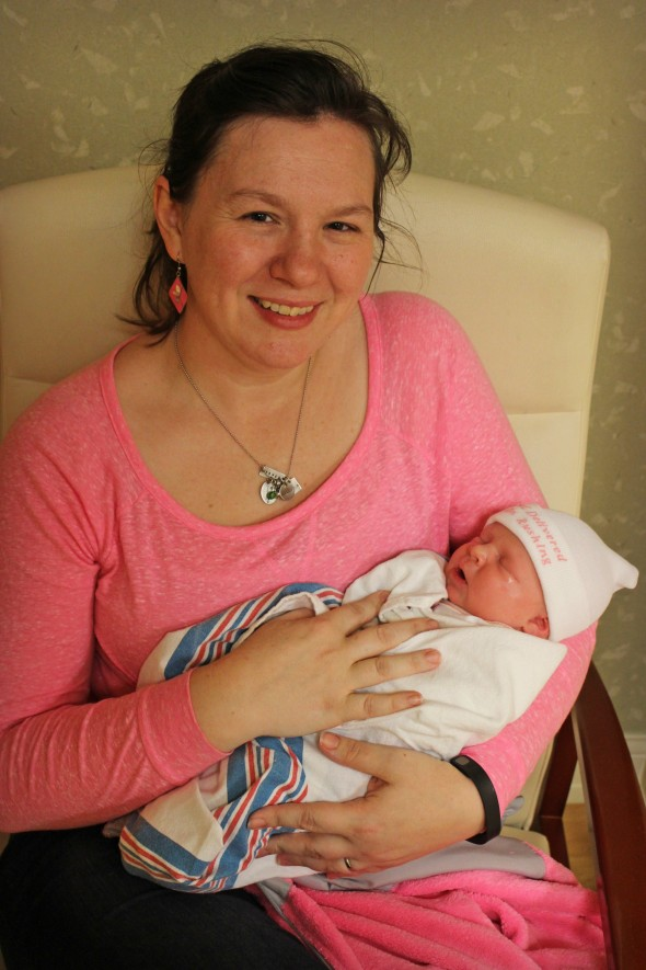 Rose with Caroline Lily-Belle