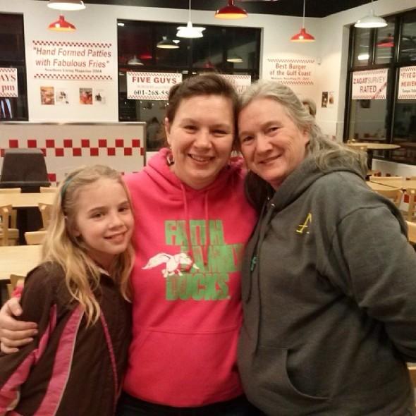 Sarah, Rose and Mama Hattiesburg