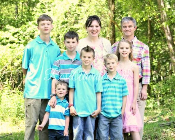 Family Portrait Landscape WM