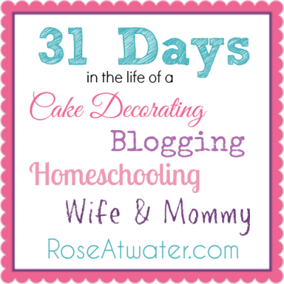 31 Days in the Life of… Day 13