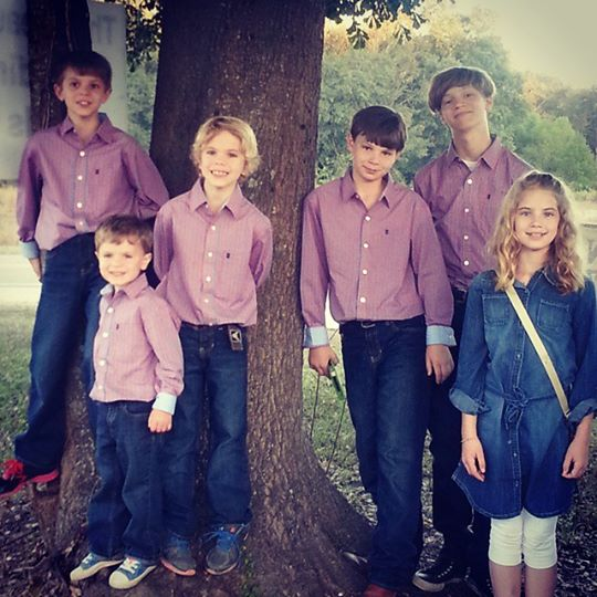 Kids Dressed Up Family PIctures