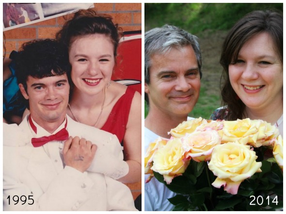 Richy and Rose Then and Now