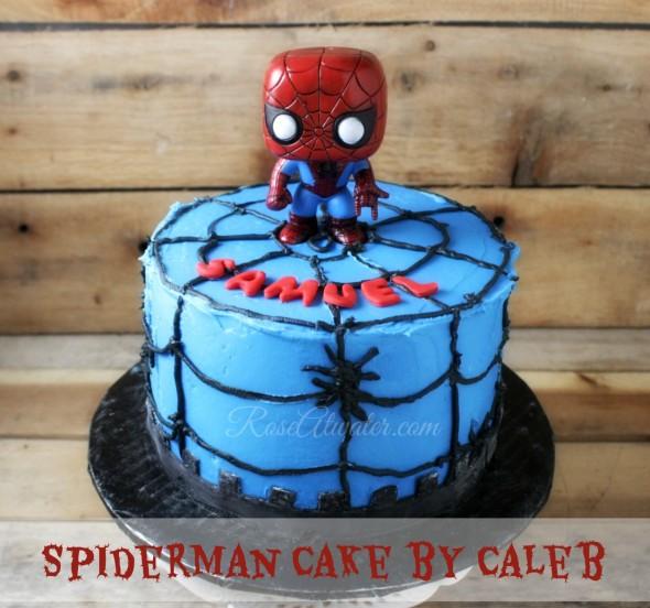 Spiderman Cake for Samuel