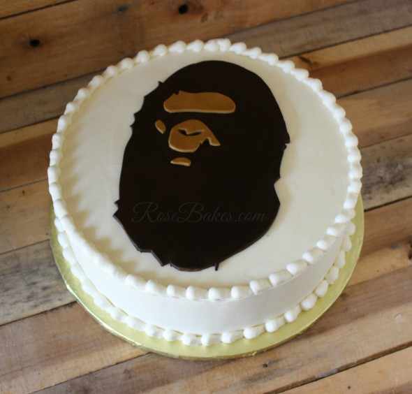 The Bathing Ape Groom's Cake
