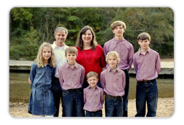 Family Portrait Magnet