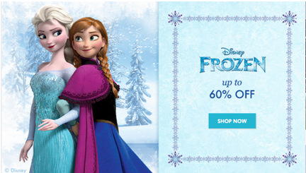 Zulily: Frozen Toys, Clothes, Accessories, and more up to 60% off!