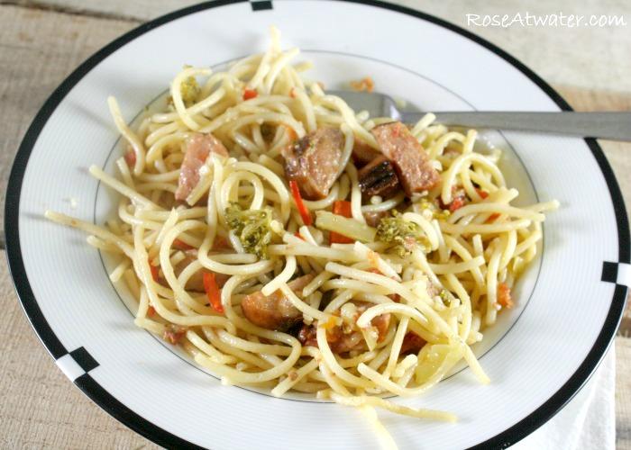 Zesty Italian Pasta with Sausage