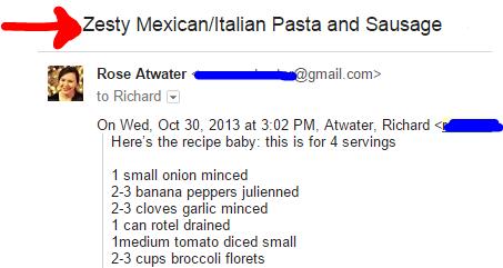 Zesty Mexican Italian Pasta