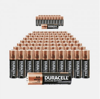 80 Pack: Duracell Batteries – 40 AA + 40 AAA for $29.99 + Free Shipping