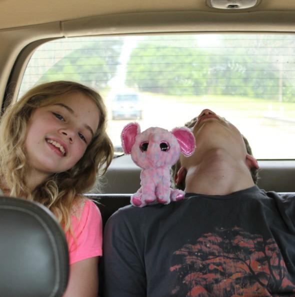 Sarah and Sleeping Joshua