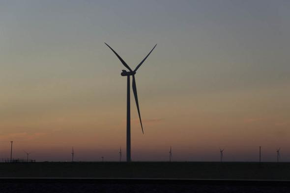 Windmills in TX