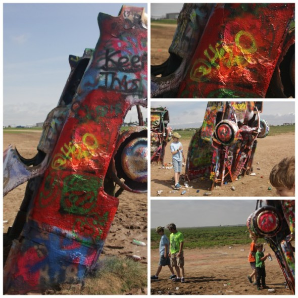 Cadillac Ranch Graffiti