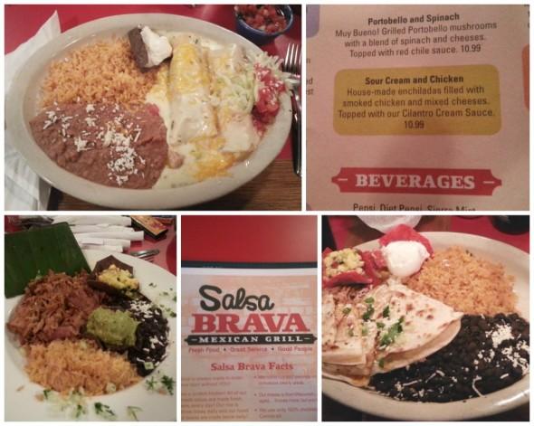Meal at Salsa Brava