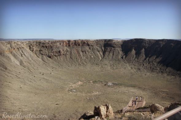 Meteor Crater Overlook