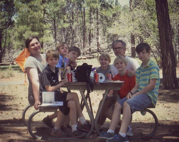 Picnic Lunch at Grand Canyon ed