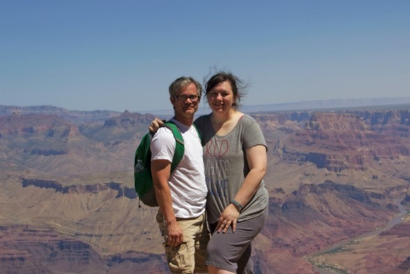 Richy and Rose at Grand Canyon 2