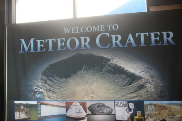 Welcome to Meteor Crater
