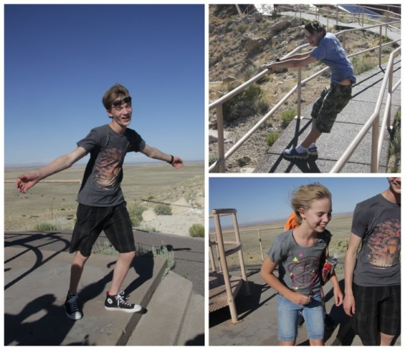 Wind at Meteor Crater