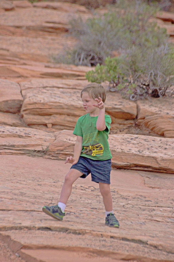 Asher-on-a-Rock-Zion