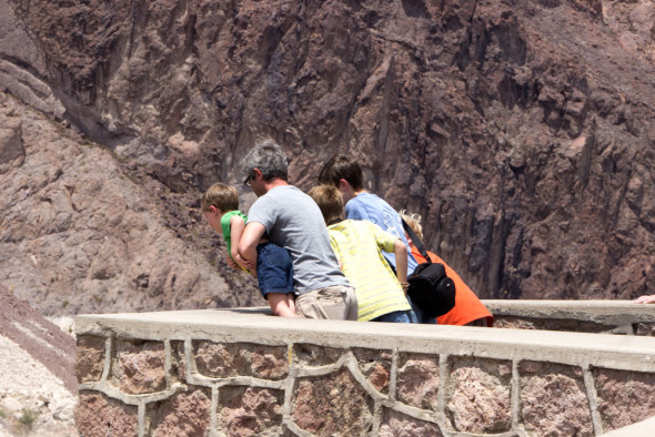 Boys-Looking-over-Hoover-Dam-at-Colorado-River