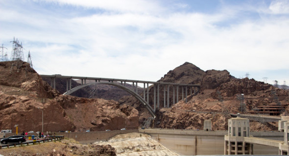 Mike-O'Callaghan–Pat-Tillman-Memorial-Bridge-at-Hoover-Dam