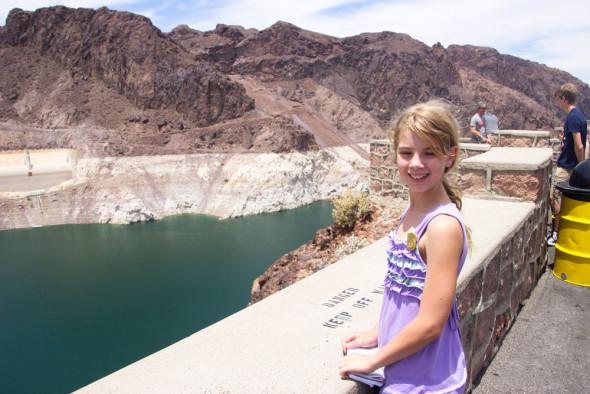 Sarah-at-Hoover-dam