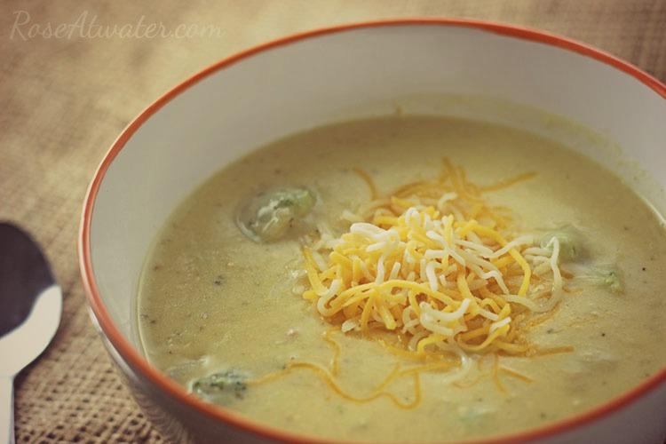 Easy Broccoi Cheese Soup 2