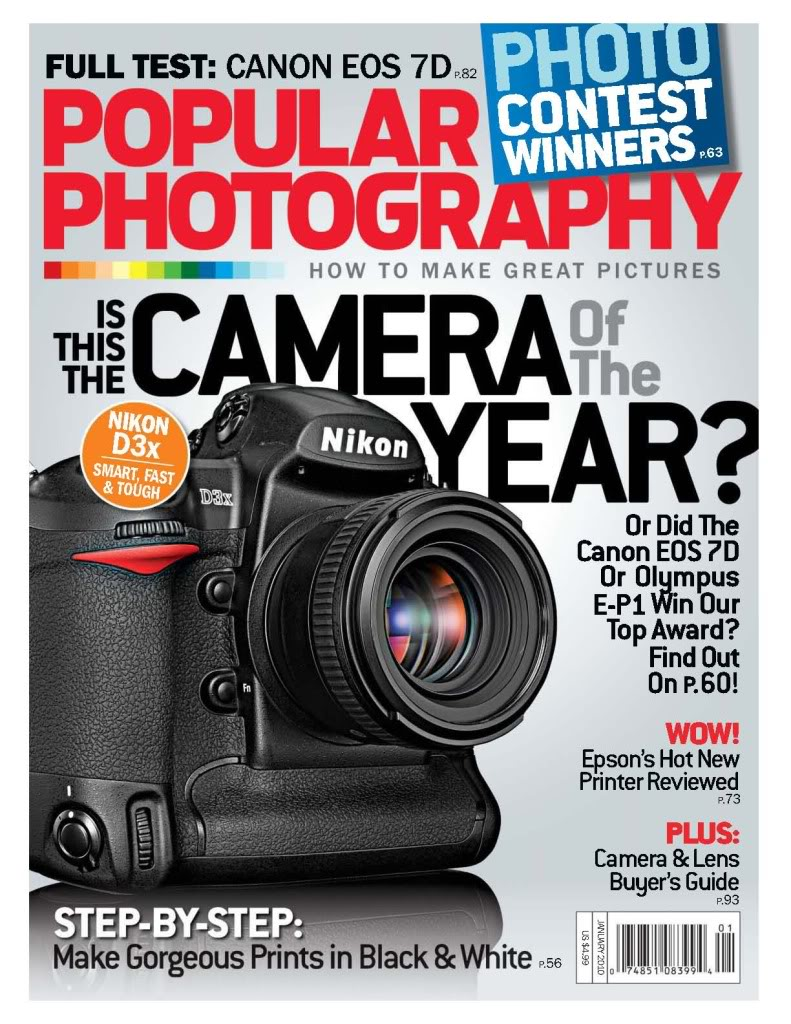 All gone!  Free Subscription to Popular Photography Magazine